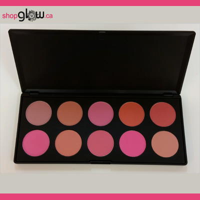 GLOWETTE™ 10 Shade Blush Palette