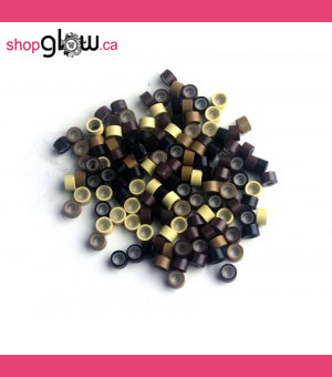 Silicone Micro Rings 5mm (50 Pack)