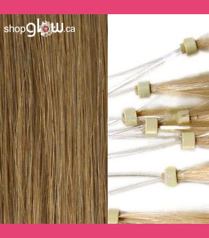 Ash Blonde Micro Loop Hair