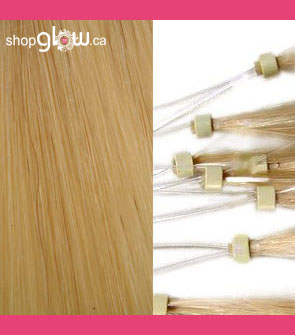 Blonde Micro Loop Hair