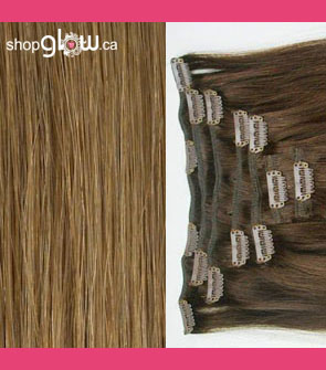 Chestnut Blonde Clip-In Hair
