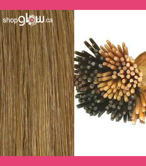 Chestnut Blonde I-tip Hair
