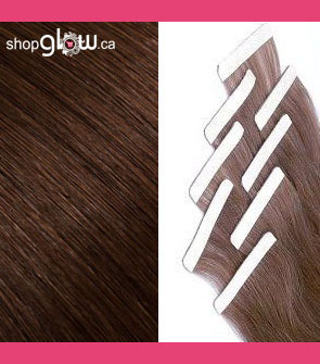 Chocolate Brown Double Tape Hair