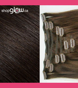 Dark Brown Clip-In Hair