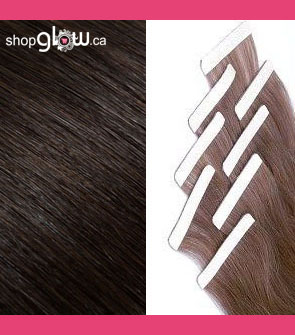 Dark Brown Double Tape Hair