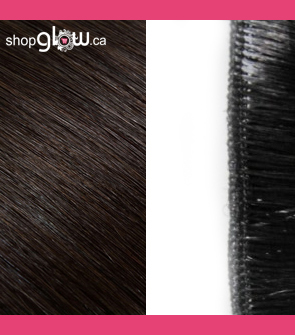 Dark Brown Machine Weft Hair