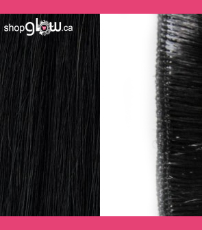Natural Black Machine Weft Hair